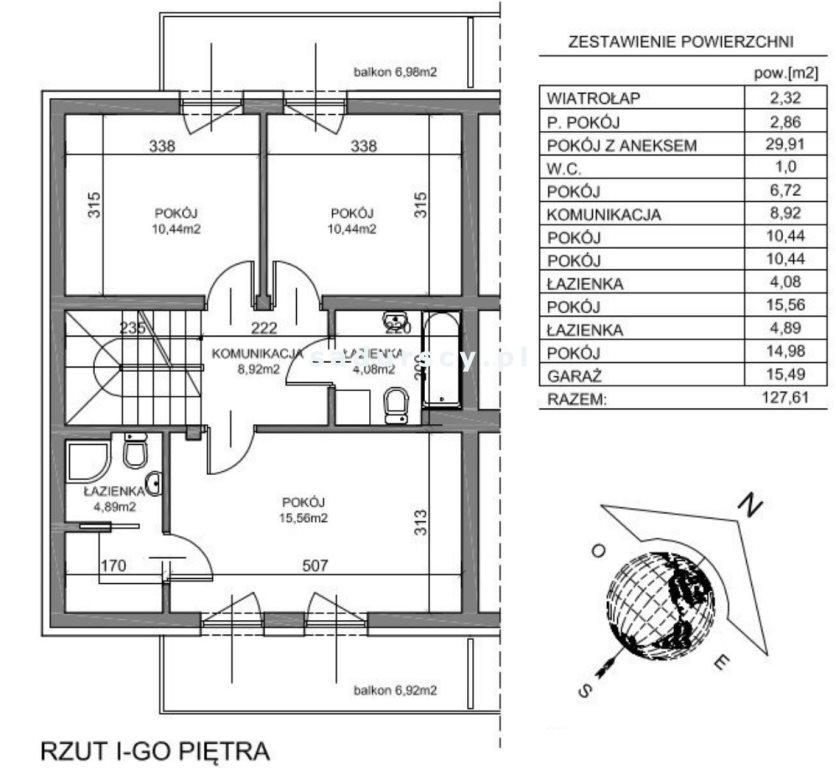 Dom na sprzedaż - krakowski, Zielonki, ul. Krakowska - okolice